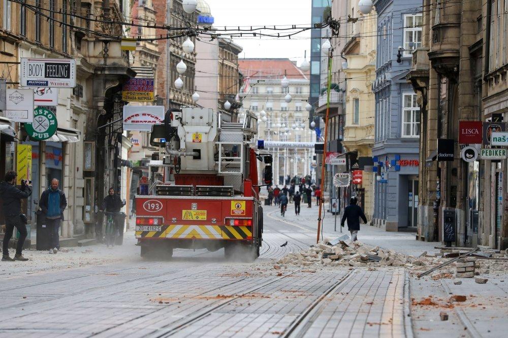 Zagreb Uzdrmao Jos Jedan Potres Tportal