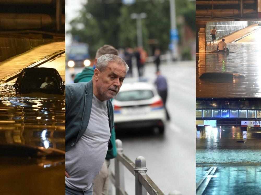 Foto Video Nocasnje Snimke Zagreba Izgledaju Zastrasujuce Poplavljena Djecja Bolnica Muzeji Stanovi Tportal