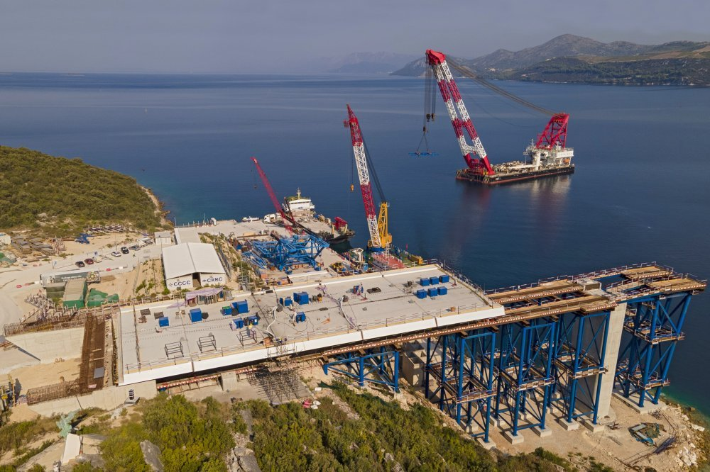 Pelješki most u samom je finišu: Završeni radovi na površini i ispod mora 1315662