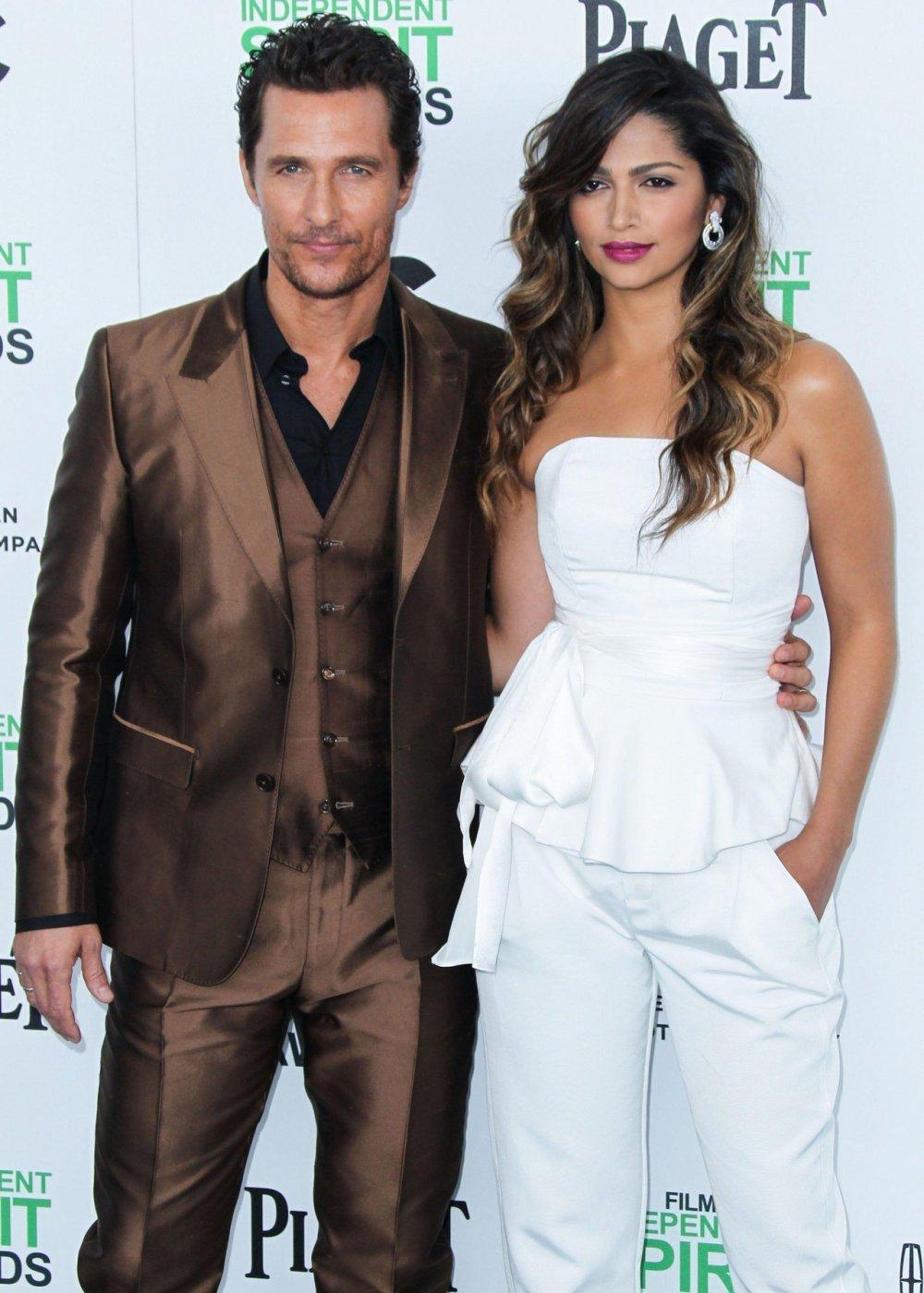 Matthew McConaughey i Camila Alves
