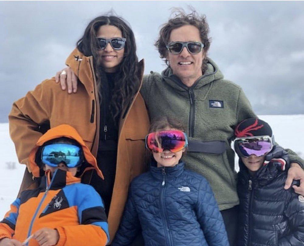 Matthew McConaughey i Camila Alves s djecom