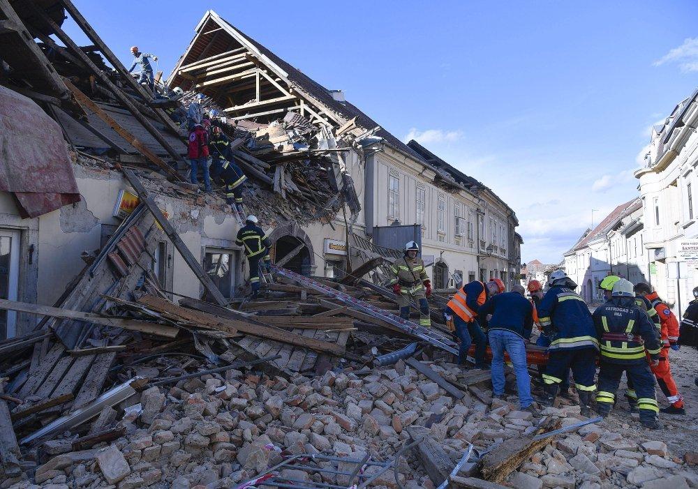 VIDEO] Pogledajte trenutak strašnog potresa uživo na televiziji N1 - tportal