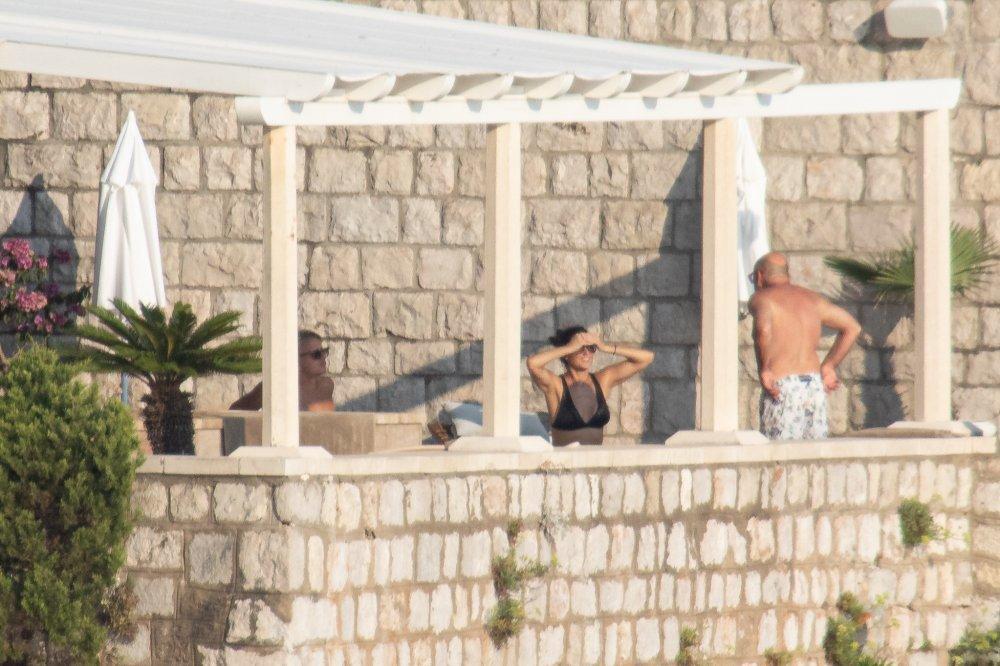 Demi Moore u vili Agave uživa s prijateljima