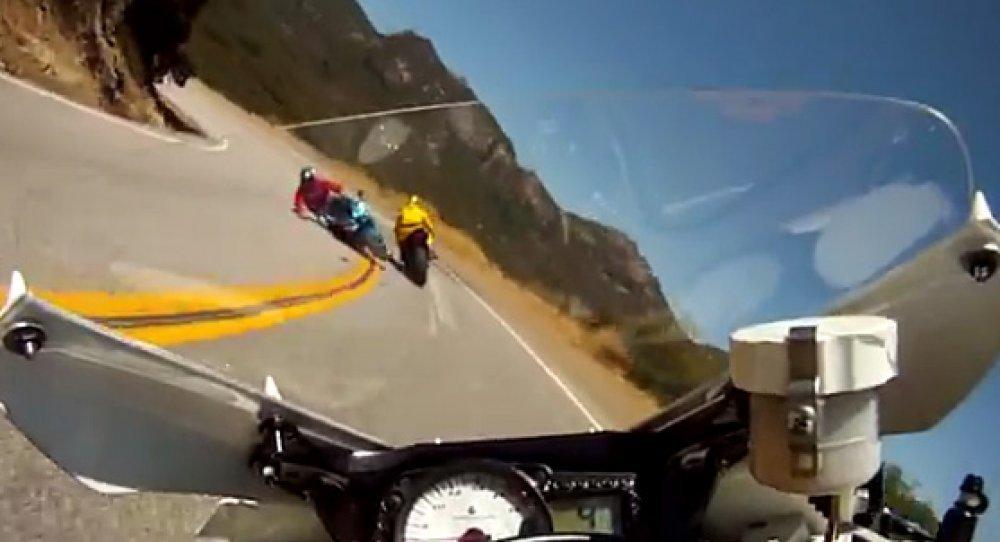 Izlazi motociklista