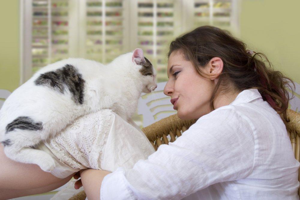 Mačka žena izlazi