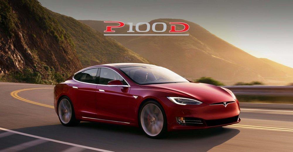 Teslin Novi Model S PD Najbrži Je Automobil Na Svijetu U - Automobil tesla