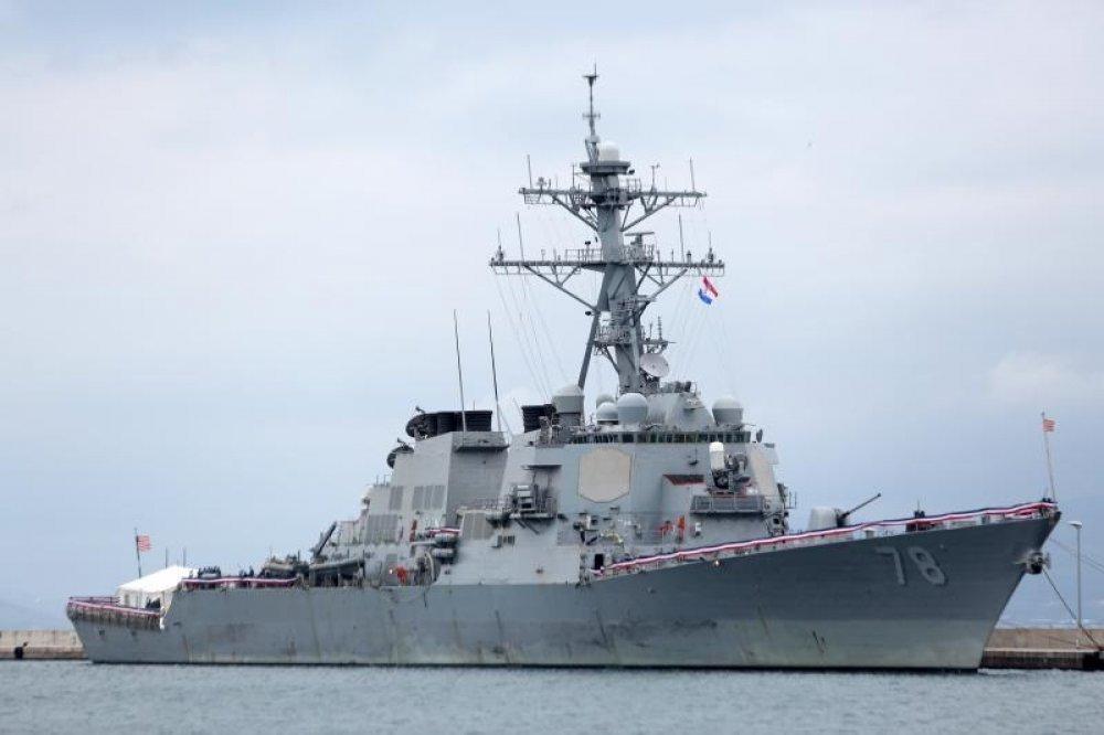 Slikovni rezultat za Američki razarač porter uplovljava u Crno more