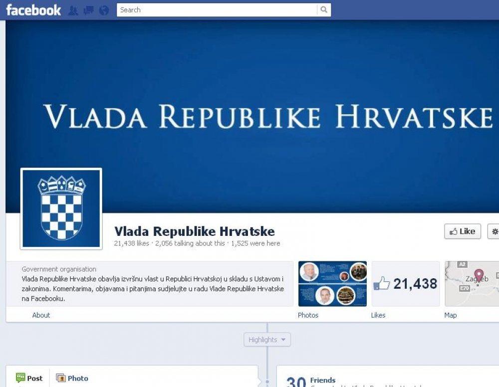 Vlada Na Facebooku Tra I Rje Enje Za Nezaposlenost Tportal