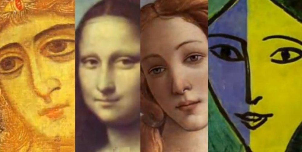 ženski portreti žena umjetnost