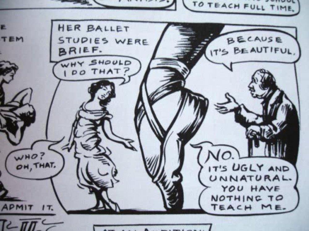 Seks stripovi iz crtanih filmova