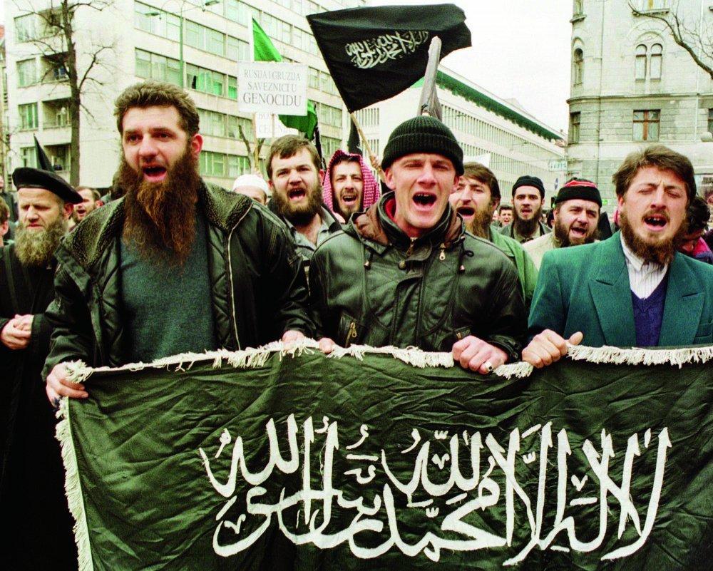 Image result for mudžahedini u bosni