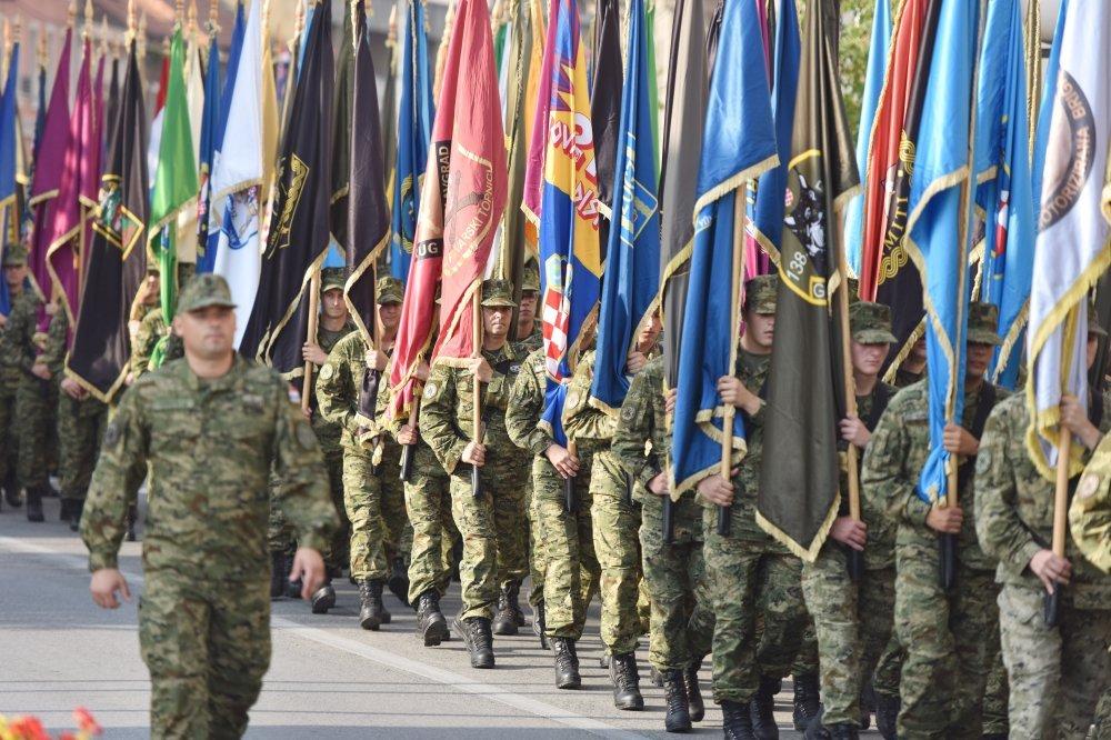 Knin: Generalna proba proslave Vojno-redarstvene akcije Oluja
