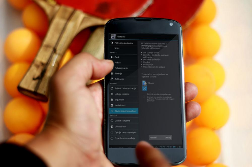Kako resetirati svoj Android - tportal
