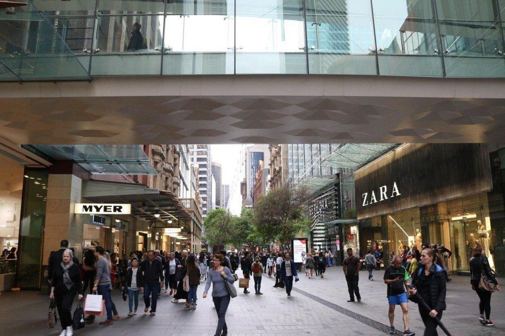 Pitt Street Mall, Sydney