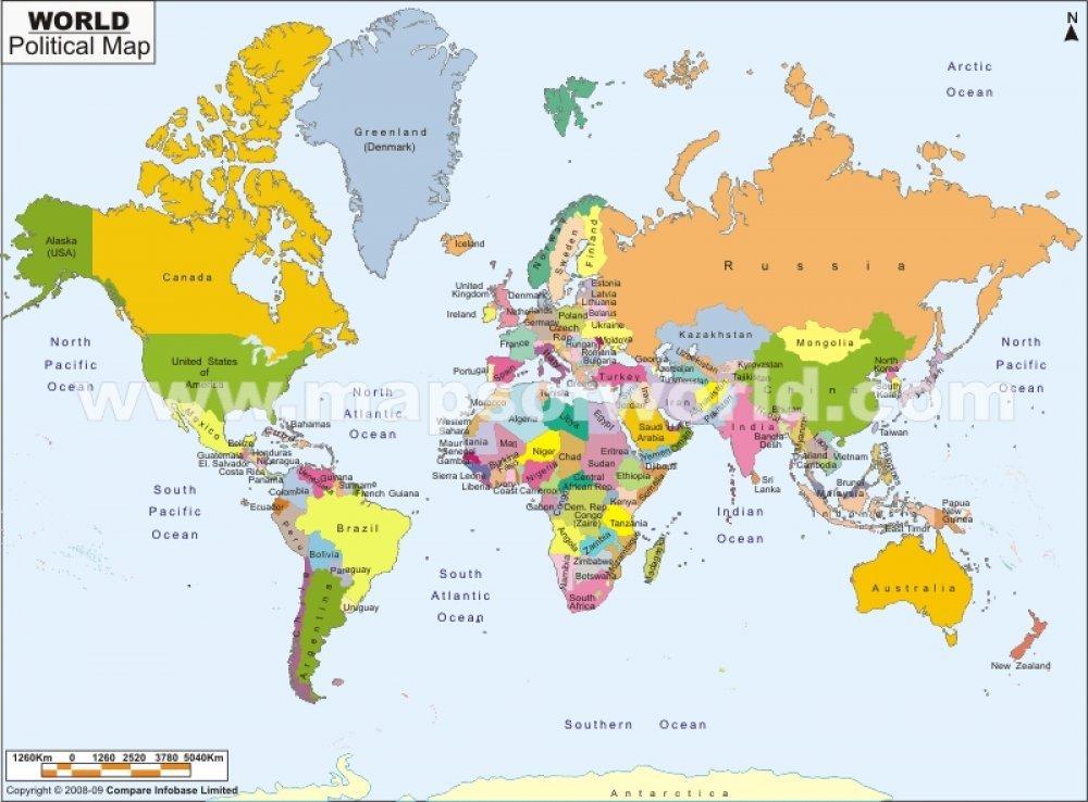 mapa drzava sveta Gdje su nove države svijeta?   tportal mapa drzava sveta