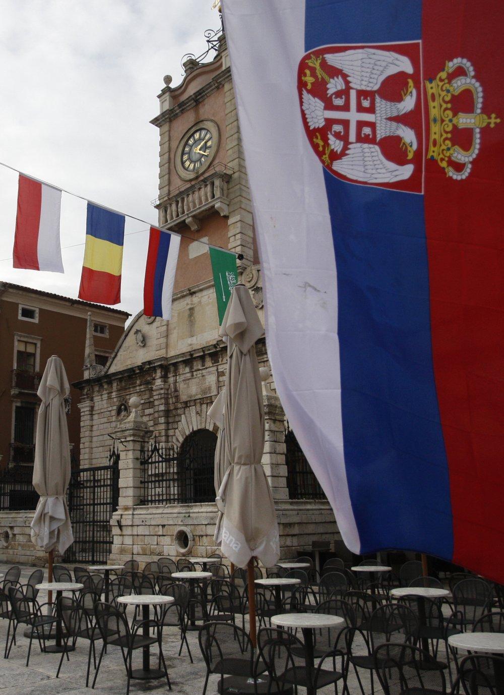 Nakon Postavljanja Srpske Nestale Sve Zastave U Zadru Tportal