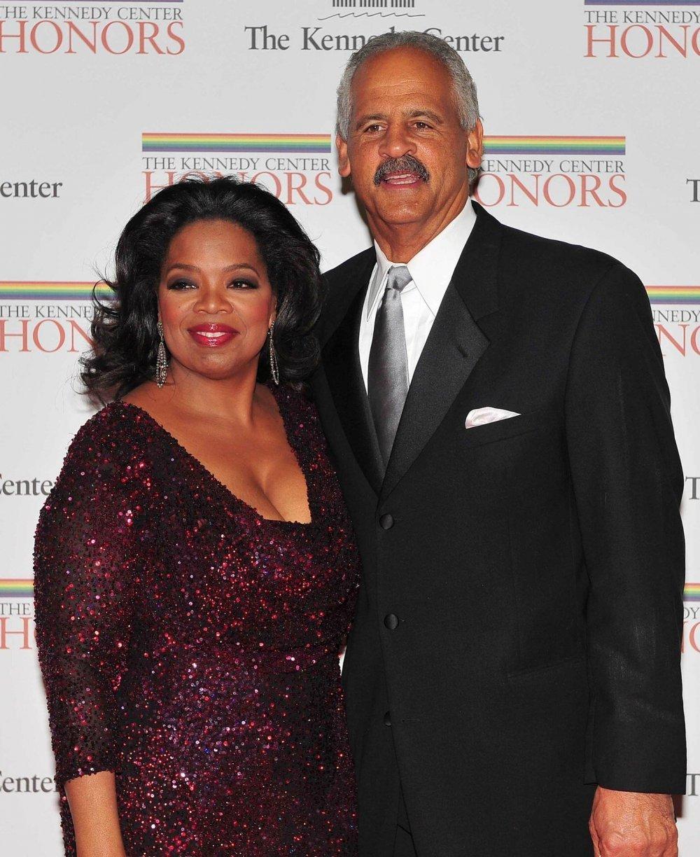 Oprah Winfrey i  Stedman Graham