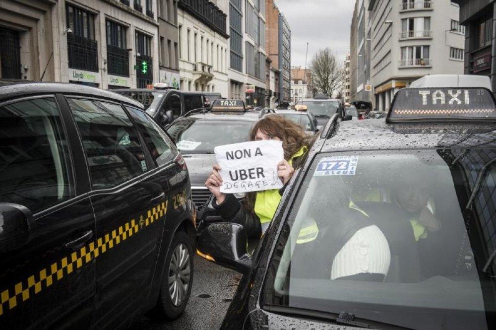 Zagrebacki Taksisti Borit Cemo Se Svim Silama Protiv Ubera Tportal