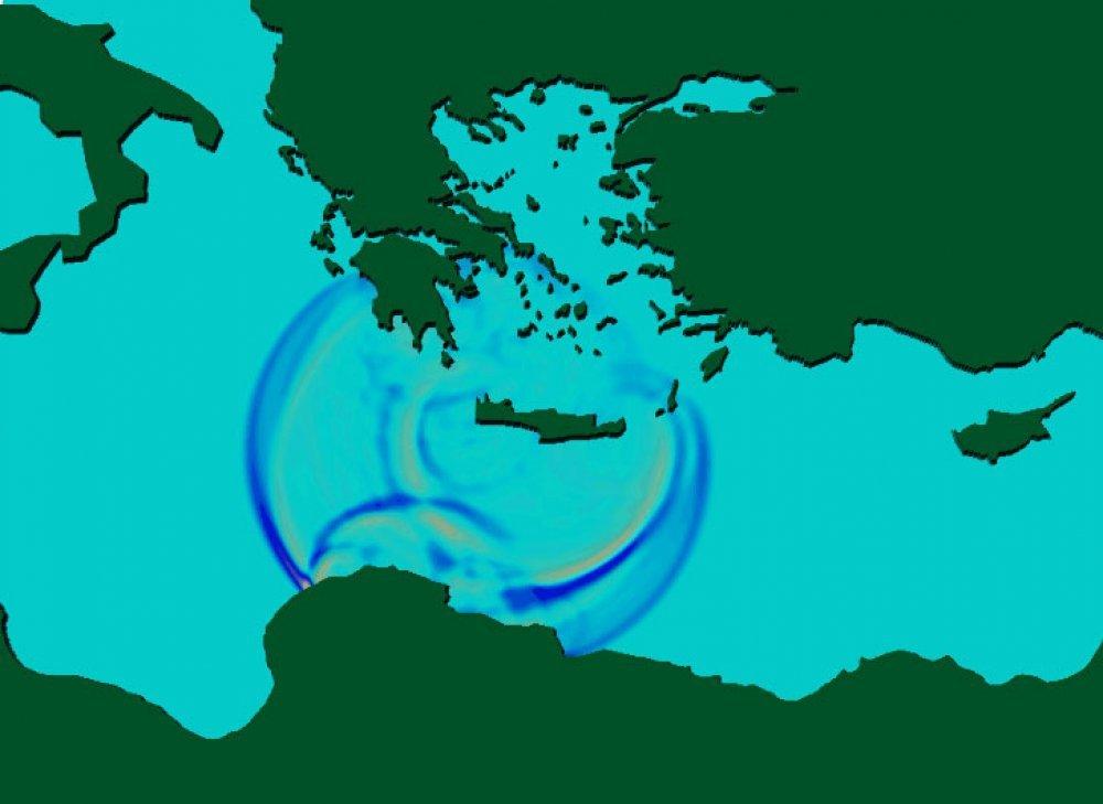 vrijeme je gore za minojsku erupciju santorinija