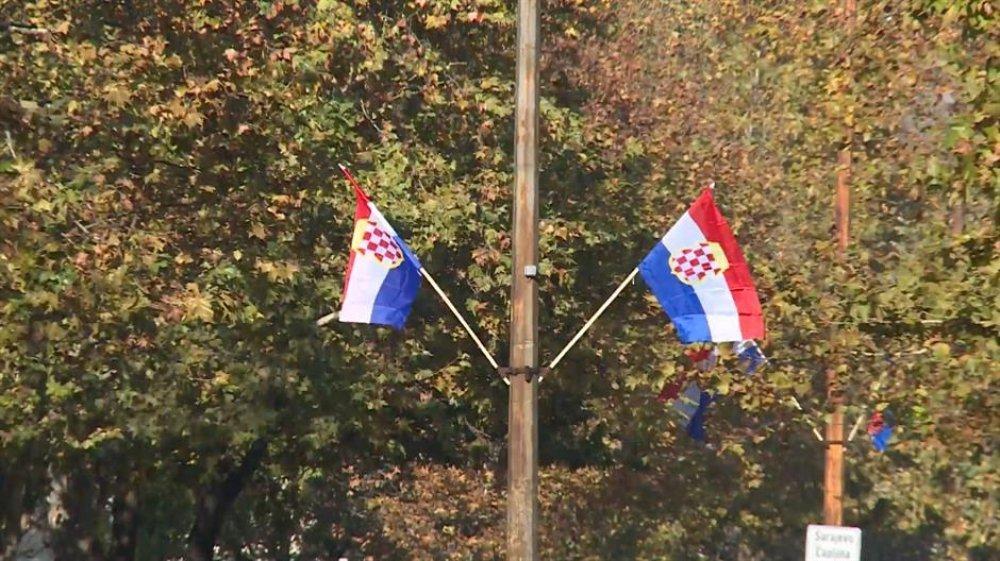 Tužiteljstvo U Mostaru Isticanje Zastave Herceg Bosne Nije