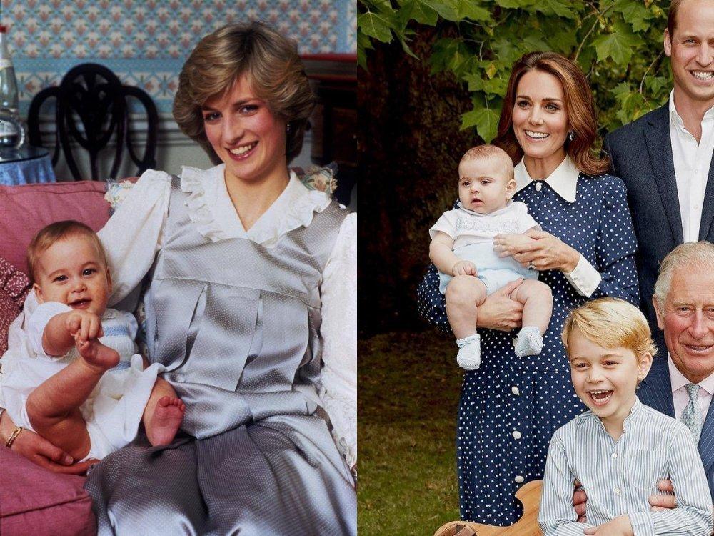 Princ William, princeza Diana, Kate Middleton i princ Louis