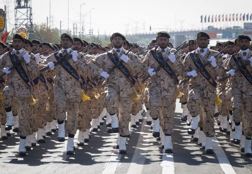 Slikovni rezultat za IRANSKA REVOLUCIONARNA GARDA