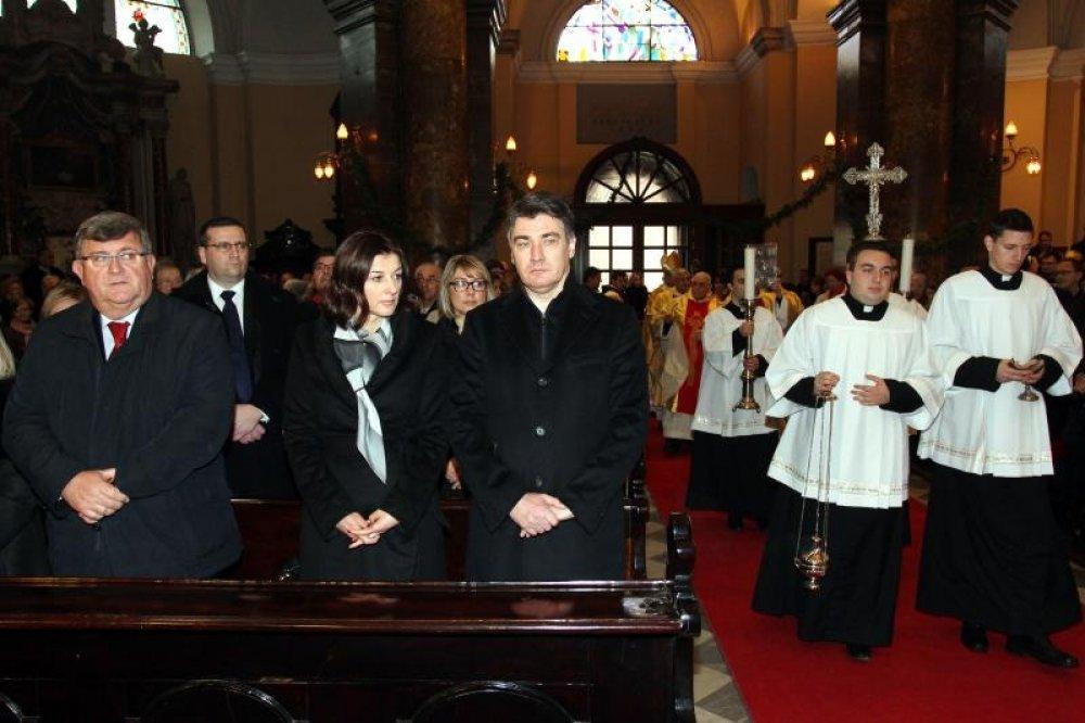 Otkriveni detalji Milanovićeve inauguracije, nije zvao nikoga iz Crkve 95927