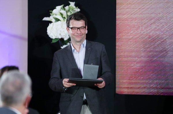 Slijepčević na dodjeli Nagrade Vladimir Nazor