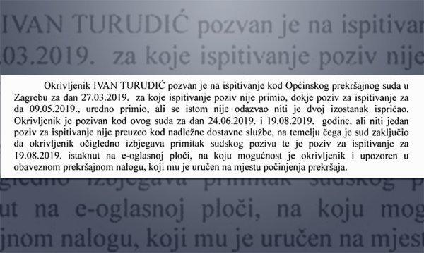 Dio presude Ivanu Turudiću