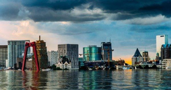 Umjetnička vizija potopljene nizozemske luke Rotterdam uskoro bi mogla postati stvarnost