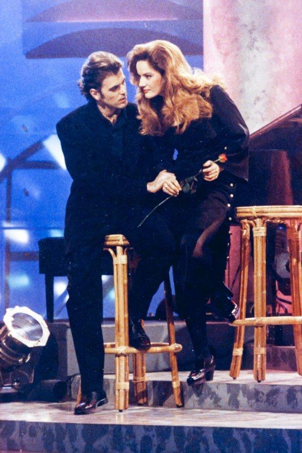 Doris Vučković sa suprugom Brunom u emisiji Sedma noć