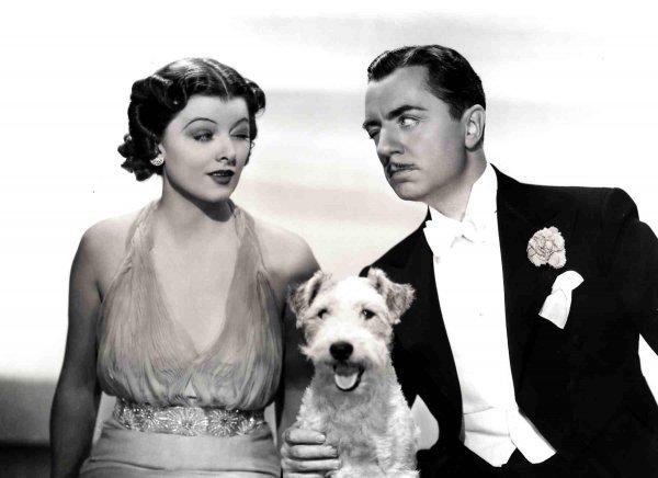 Myrna Loy i William Powell