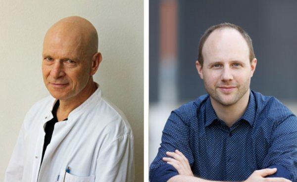 Jindrich Cinatl i Christian Münch, istraživači s Goeteheovog instituta
