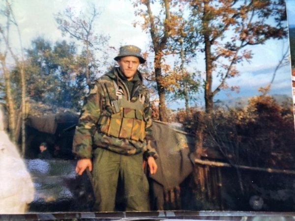 Neven Klapež zvani Falco, pripadnik Druge bojne 4. gardijske brigade, logoraš i veteran Oluje