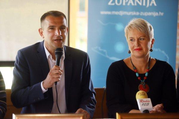 Sandra Herman i međimurski župan Matija Posavec