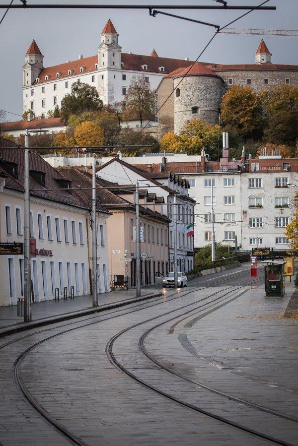 Prazna Bratislava