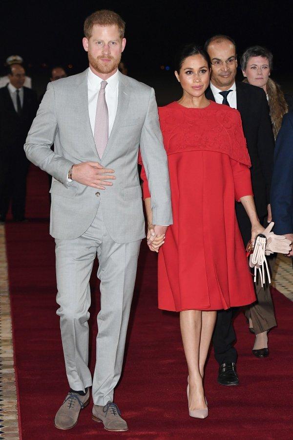 Princ Harry i Meghan Markle tijekom posjeta Maroku