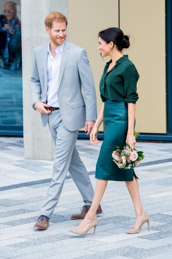 Princ Harry i Meghan Markle tijekom posjeta Sussexu