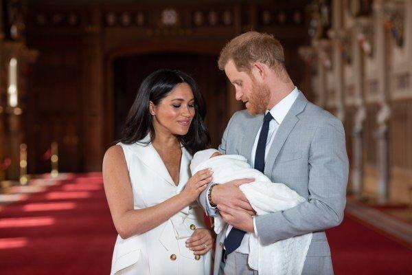 Princ Harry i Meghan Markle sa sinom Archiejem
