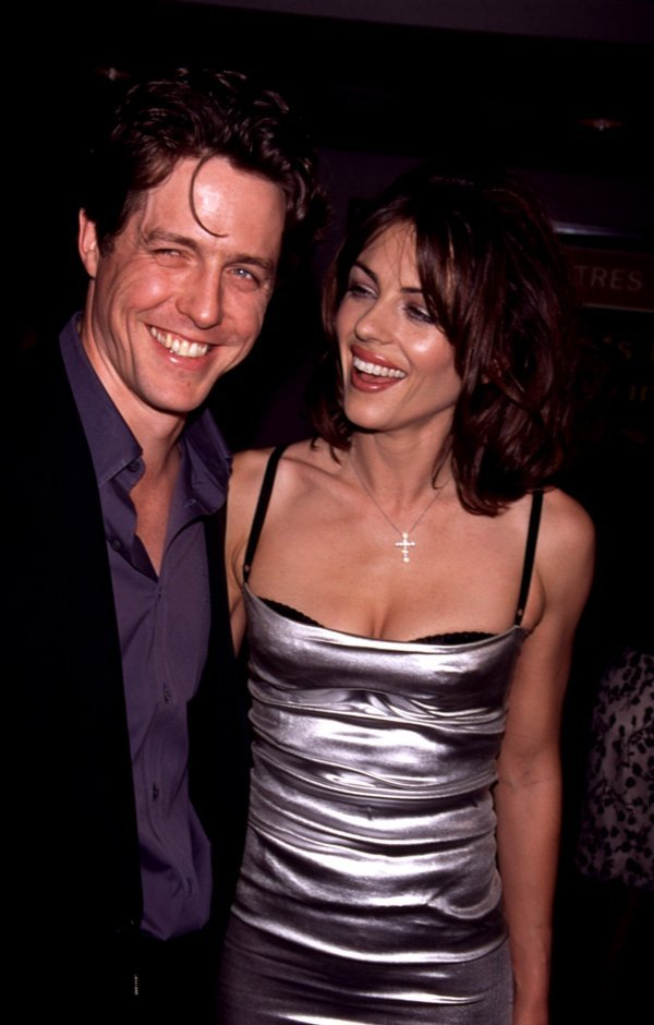Hugh Grant i Liz Hurley