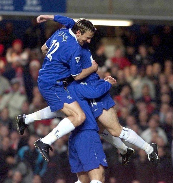 Mario Stanić iz vremena dok je igrao za Chelsea