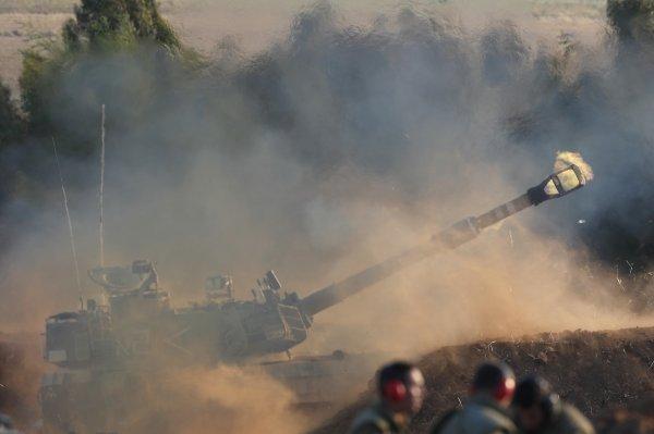 Artiljerija na granici s pojasom Gaze