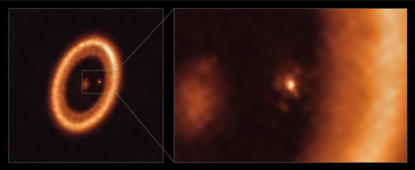 PDS 70c i njegov mjesečev prsten
