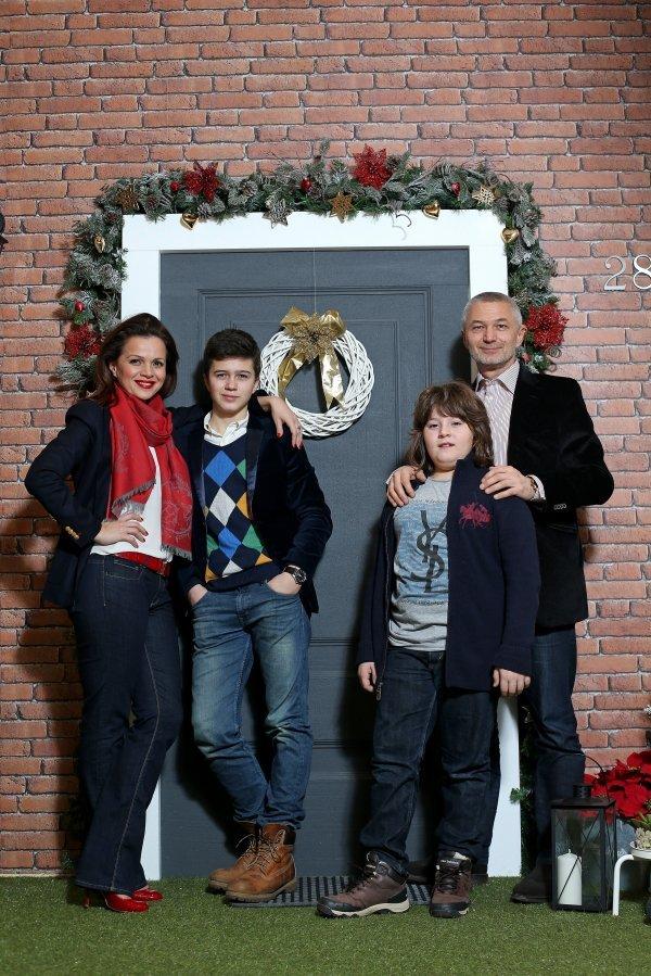 Sandra i suprug Darko s danas 16-godišnjim Markom i 12-godišnjim Lovrom
