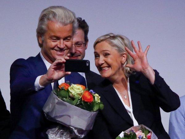 Geert Wilders i Marine Le Pen