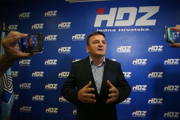 Petar Škorić, šef splitskog HDZ-a