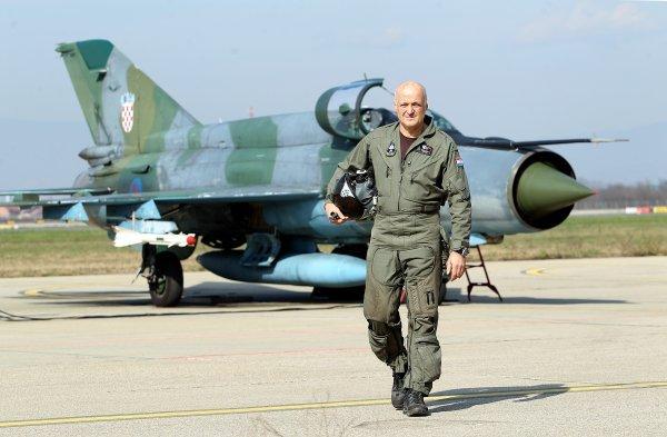 Umirovljeni brigadir Ivan Selak