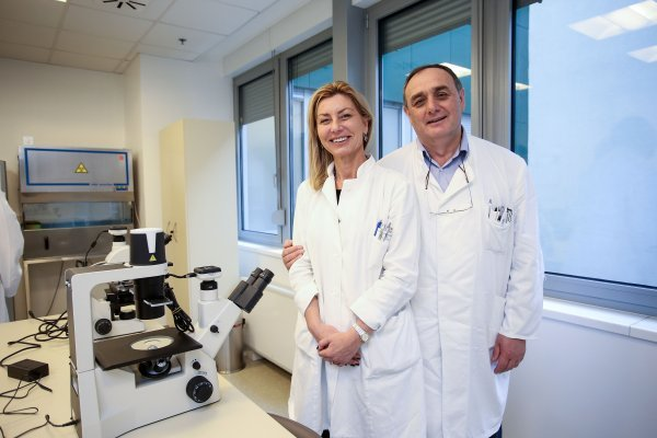 Dr. Dinka Pavičić Baldani i dr. Slavko Orešković