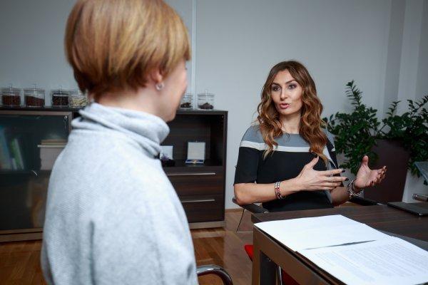 Dajana Mrčela, članica Uprave Kandita, i novinarka tportala Ivana Barišić