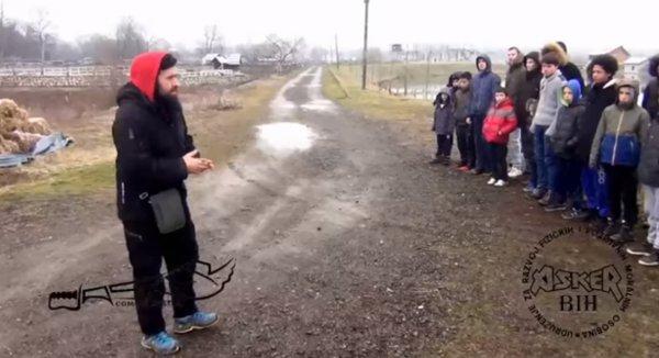 Zimski kamp za obuku održan je u Tešnju